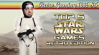 Top 5 Star Wars Games: Retro Edition | RGT 85