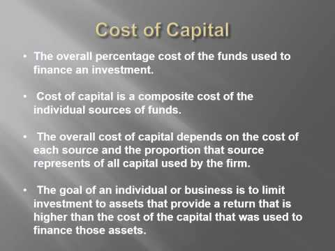 Capital Expenditures and Budgeting
