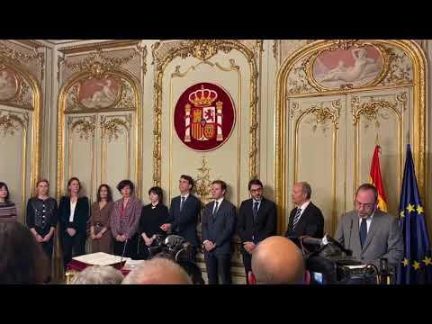 Sofía Puente jura su cargo como directora general de Seguridad Jurídica y Fe Pública