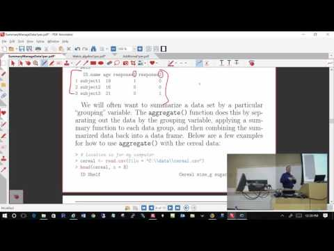 Computing Tools for Statisticians - Class #29 (R)