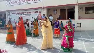 Swami vivekananda govt.model School nimbi jodhan block ladnun child fair