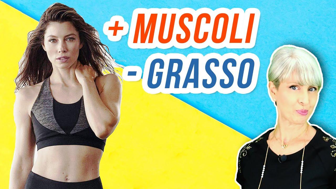la dieta aumenta la massa muscolare e brucia i grassi