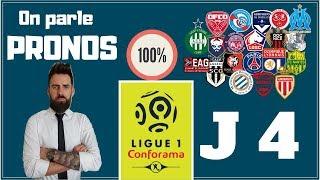 PRONOSTIC 4 ÈME JOURNEE DE LIGUE 1 - ON PARLE PRONOS - TOP 5 DES MEILLEURS ! / 29-08-2018