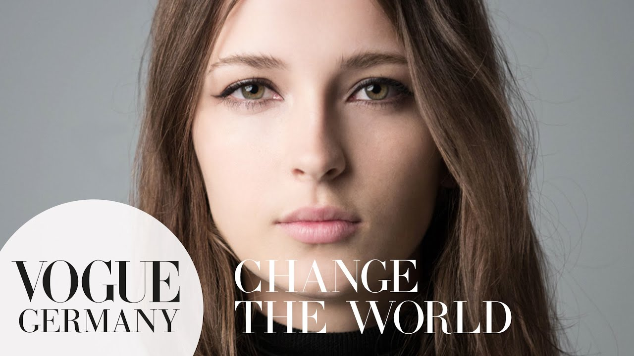 You can change the world – A Message for you by Waleska Gorczevski for VOGUE