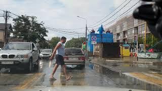 Из зимы #Анапа в лето #Витязево 15.09.2018 по пионерскому проспекту