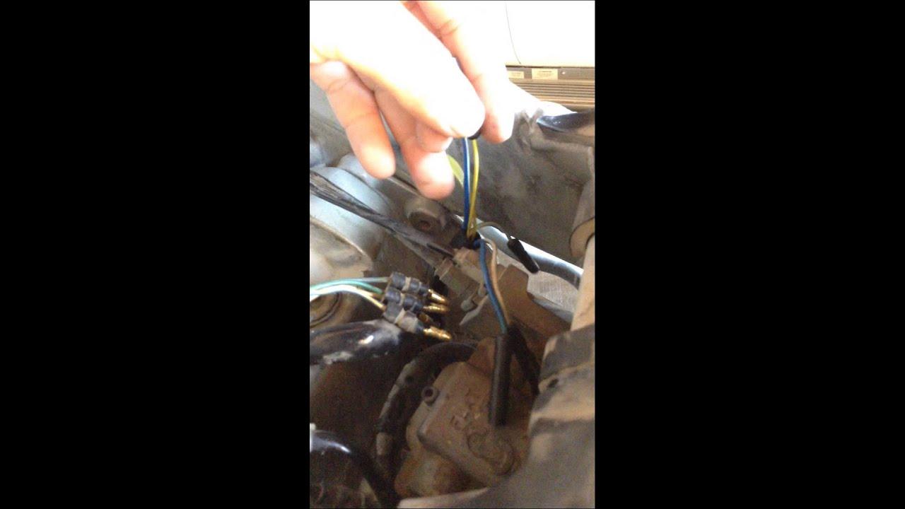 hight resolution of 2003 honda crf450r lighting stator installation quick overview