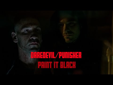 Daredevil/Punisher: Paint It Black