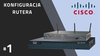 Ruter CISCO #1 - budowa, funkcje, interfejsy