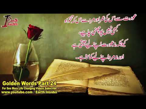 Golden Word Part  Motivational Quotes In Urdu Hindi Heat Touching Quotes You
