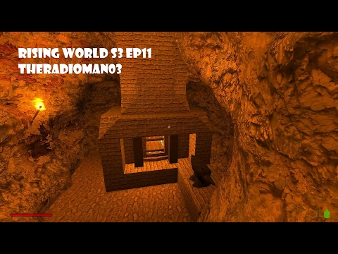 "Rising World S3 EP11 ""Custom Smelter"""