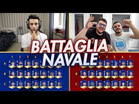 BATTAGLIA NAVALE con i TOTS della SERIE A! INDOVINA IL CALCIATORE CHALLENGE w/FIUS GAMER e TONY TUBO