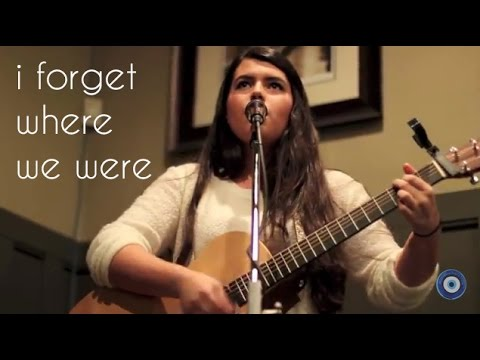 I Forget Where We Were cover - Madi and Worth