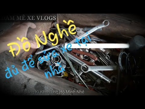 Đồ Nghề Đơn Giản Để Sửa Xe Tại Nhà   Đam Mê Xe Vlogs