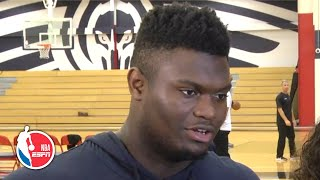 Zion will return to the Pelicans when he's ready | NBA Sound