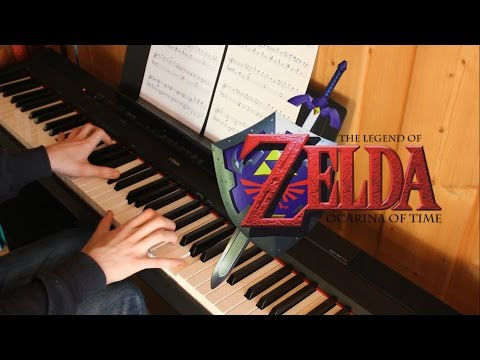Zelda's Lullaby (Easy) - The Legend of Zelda: Ocarina of Time Piano Cover | Sheets & Midi