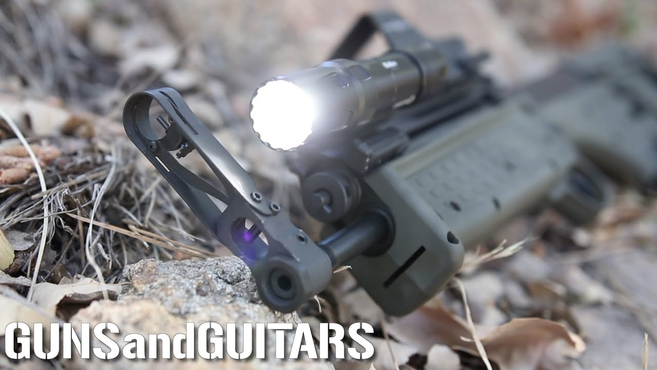 Finally a QUICK RELEASE RIFLE LIGHT! but is it good? (Olight Odin full review and demo)