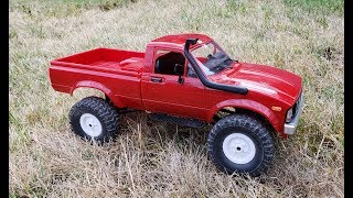 WPL C24 1:16 Scale 4-WD RC Pickup Truck Review