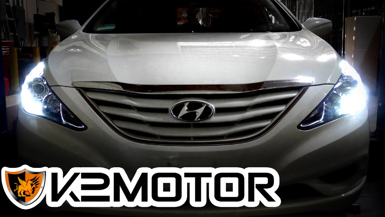 K2 Motor Installation Video 2017 Hyundai Sonata Led Projector Headlights