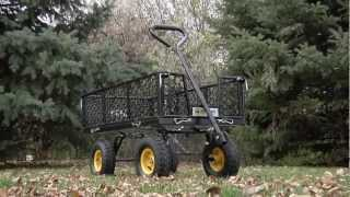 Steel Cart - 40in.l X 20in.w, 800-lb. Capacity