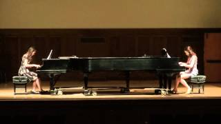 Bizet, Arr. by Anderson - Carmen Fantasy for 2 Pianos - Renny Ko, Palmy Chomchat Silarat