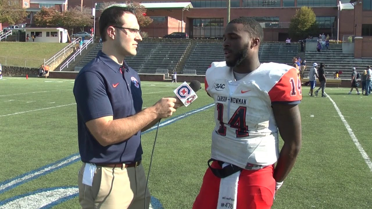 Carson Newman Football Derrick Evans Jr Recaps Mars Hill 10 14 17 Youtube