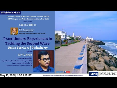 Practitioners' Experiences in Tackling the Second Wave   Union Territory   Puducherry