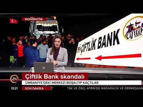 Canlı Yayın / İşte ÇİFTLİKBANK'ın genel merkezi / 24 TV / 13 Mart 2018
