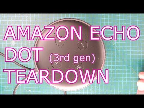 Amazon Echo Dot (gen3) Tear down