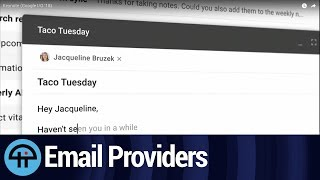 Email Provider Alternatives to Google's Gmail