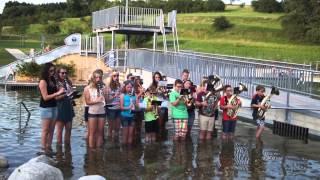 Blaskapelle Deining Cool Water Challenge 2014
