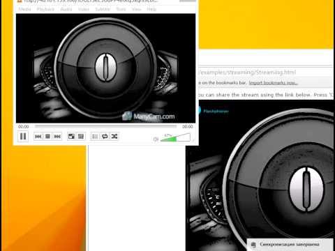WebRTC as RTSP stream on VLC Player