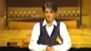 MAX EMANUEL CENCIC boy soprano  -  Der Hirt auf dem Felsen