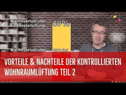 Vorteile und Nachteile einer kontrollierten Wohnraumlüftung Teil 2 ...