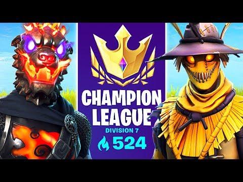 arena mode champion league pro fortnite player 575 points - fortnite champion division thumbnail