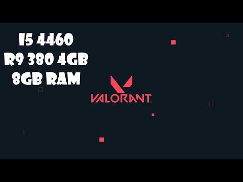 Valorant | I5-4460 | R9 380 4gb| 8gb Ram