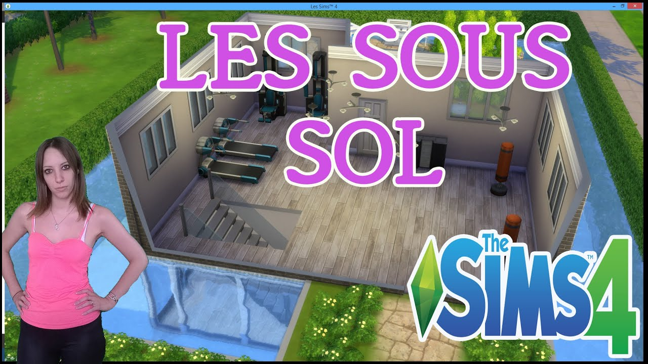 les sims 4 d couverte des sous sol mise a jour youtube. Black Bedroom Furniture Sets. Home Design Ideas