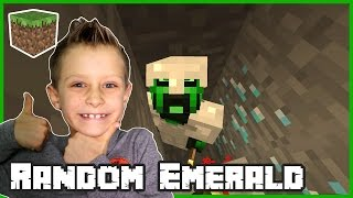 Random Emerald On The Ground / Minecraft