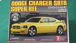 LINDBERG 1/24 Dodge Charger SRT8 Super Bee 2007 Review Deixe nos co...