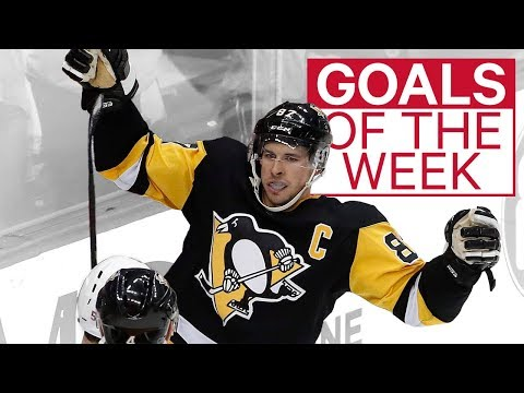 NHL Goals of the Week: Crosby enters goal of year conversation