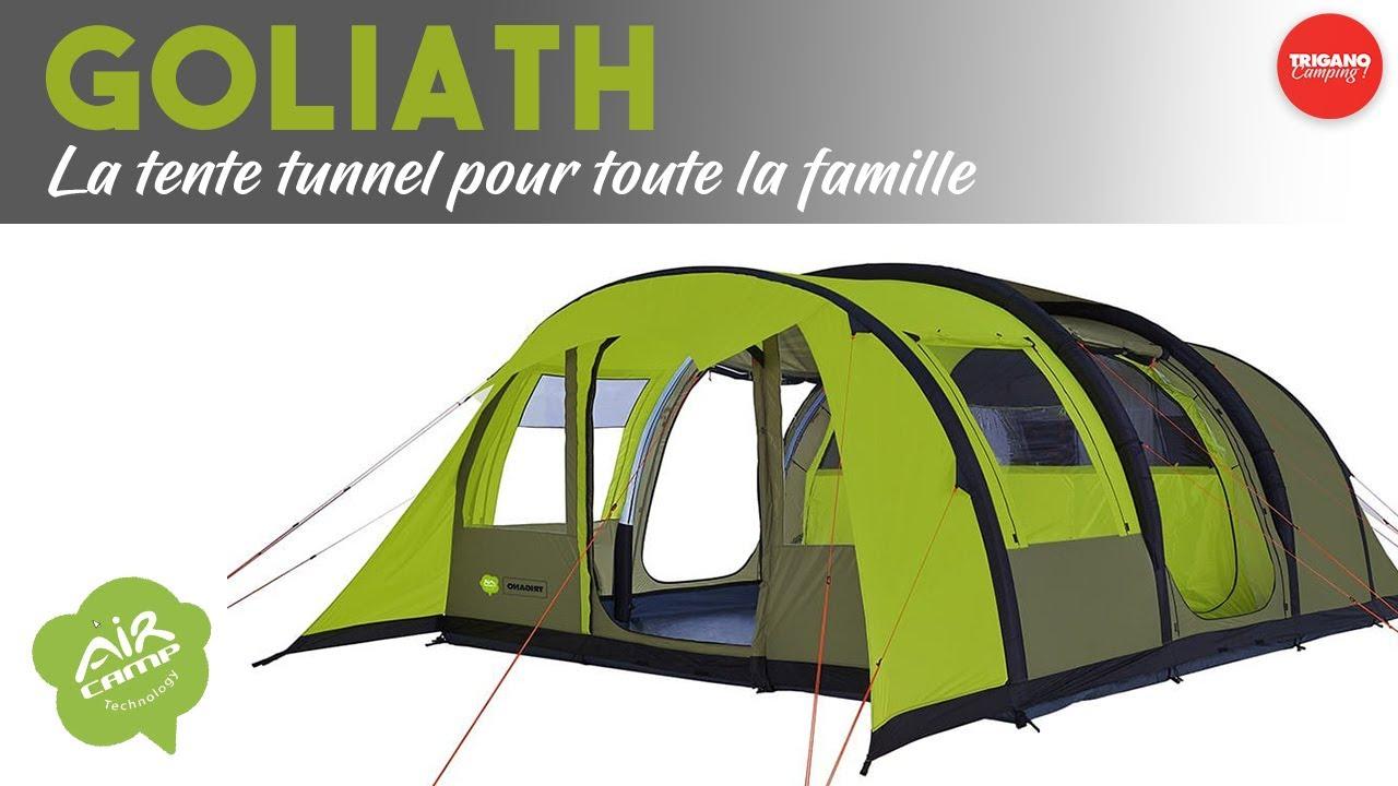 la tente gonflable goliath 6 places pour accueillir toute la famille