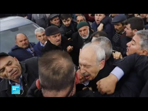 صور توثق الاعتداء على زعيم حزب الشعب التركي كمال كليتشدار أوغلو  - 12:54-2019 / 4 / 23