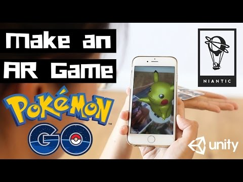Pokemon GO! How to Make a Game With Augmented Reality (AR) in Unity | Ep 1