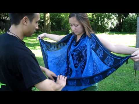 Boluthoan - How to tie a Sarong/Malong for women Part 2