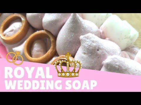 Making Royal Wedding Soap 👰🏻 | Gypsyfae Creations