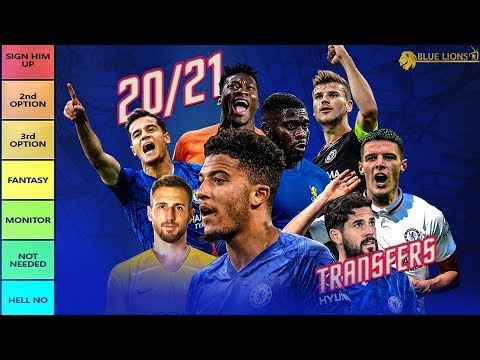 Chelsea Summer Transfer Targets 2020/21 - TIER LIST
