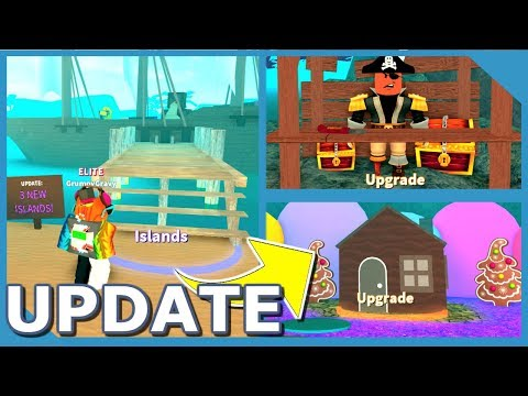 NEW ISLAND UPDATE IN ROBLOX TREASURE HUNT SIMULATOR (NEW TOOLS, PETS AND BAGS)