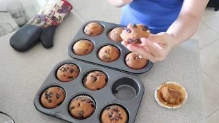 Vlog 230 ll Thiệt hại nặng nề sau cơn giông , làm bánh Muffin