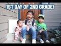 Austin's Starts 2nd Grade   Family Vlogs    April's Beautiful Mess