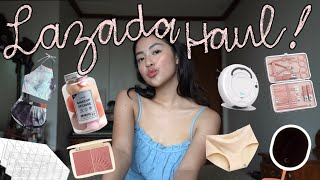 ₱43K WORTH LAZADA HAUL! (BEAUTY, DECOR, FASHION & MORE)