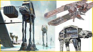 AT-ACT   CIS Dropship Tech in a Walker (Star Wars Walker Breakdown)